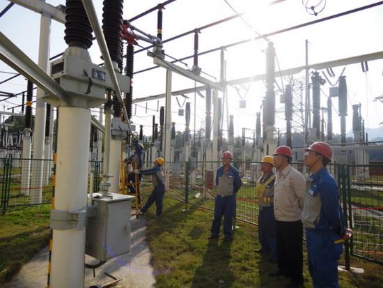 彭水变电站220千伏刀闸大修工程顺利竣工